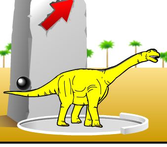 Dinosaur King Dinolympics Game