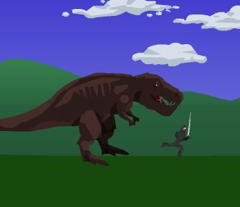 Dinosaur Have a nice day Game