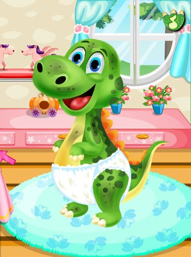 Baby Dino Pet Spa And Care Game