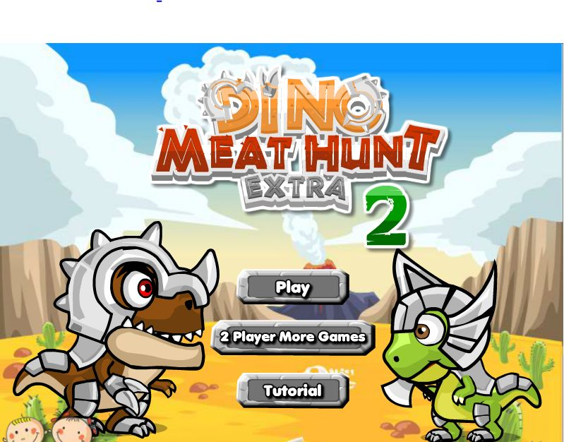 Dino Meat Hunt Extra 2 Game