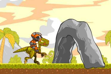 Fly Raptor Rider Game