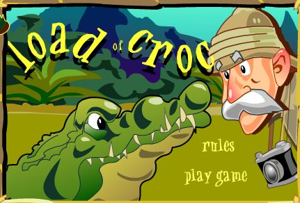 Crossing The River Infested With Alligators Game