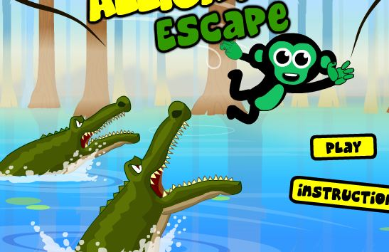 Alligator Escape Game