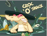 Crocodile Croc 'O' Snack Game