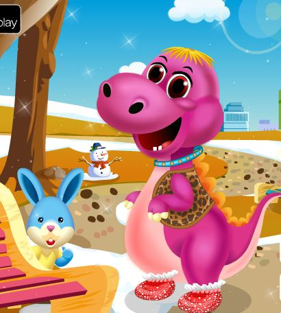 Baby Dino Spa Salon And Care Game