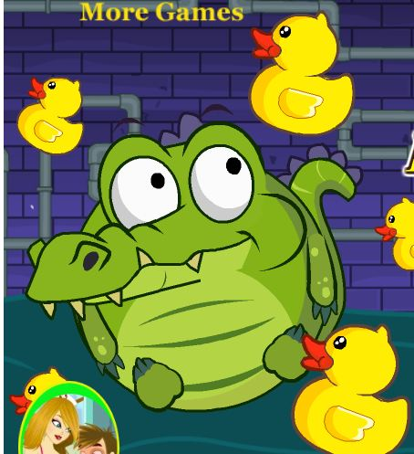 Crocodile Love Duck Game
