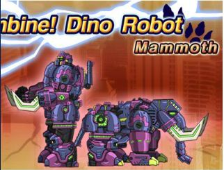 Dino Robot Mammoth Game