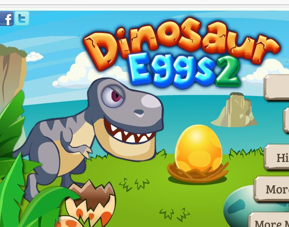 Dinosaur Eggs 2 Game
