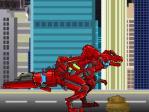 Dino Robot Jumping Game