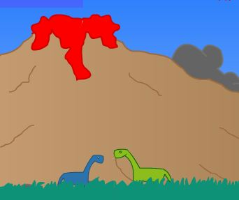 Adventure Game Dinosaur on Earth Game