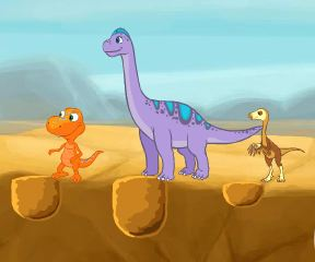 Dinosaur Train Hydration Station Game