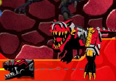 Power rangers dino thunder dino gems Game