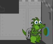 Dino Jeff Jet Pack Adventure  Game