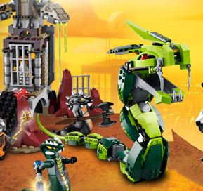 Ninjago Dragon Battle Game