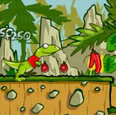 Raptor fruit rush Game