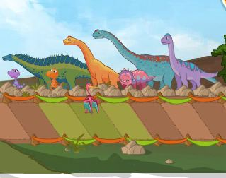 Dinosaur Train Air Show Game
