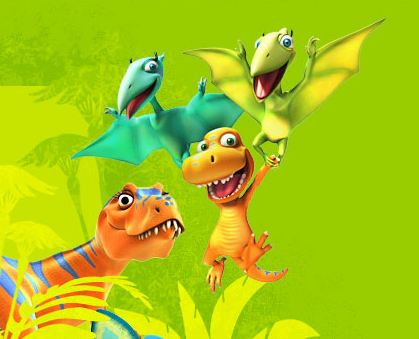 Dinosaur Train Buddies Fly Game