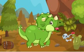Escape From Dinosaur Hill Game