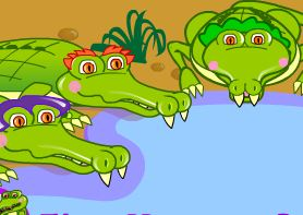 Five Hungry Crocodiles Game