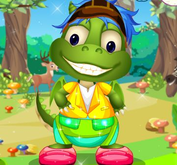Trained Dragon Dress Up Game
