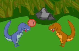 Dodgeball Dino Duel Game