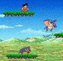 Dragon Ball Z Platform Game