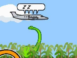 Adventure Plane Vs Dinosaur Game