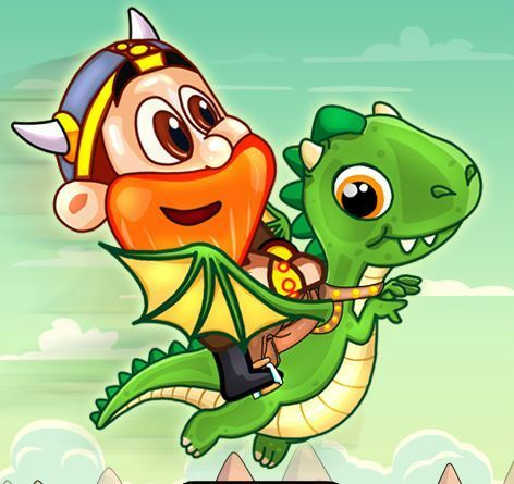 Dinosaur Viking Adventure Game