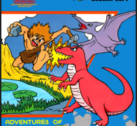 Adventures Of Dino Riki Nintendo Game