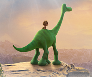Dinosaur Arlo's Journey Game