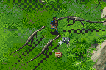 Dinosaur The Lost World Jurassic Park Game