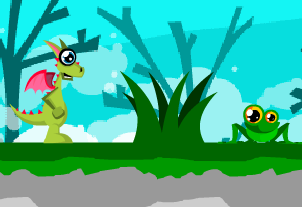 Small Dragon Adventure Game