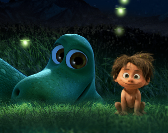 The Good Dinosaur Firely Catcher Game