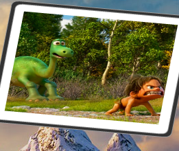 The Good Dinosaur Spin Puzzle Game