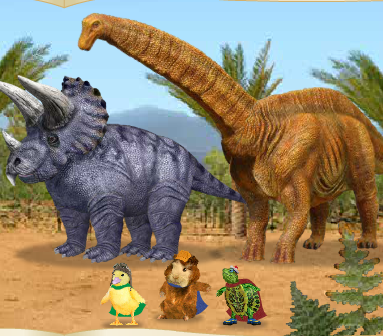 Save A Baby Dinosaur Game
