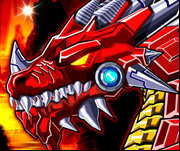 Robot Fire Dragon Game