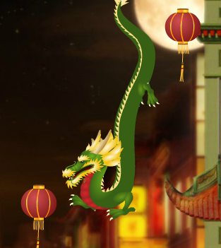 Dragon Lantern Lighting Game