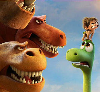 The Good Dinosaur Puzzle 4 Game