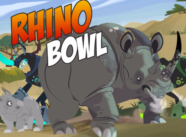 Wild Kratts Rhino Bowl  Game