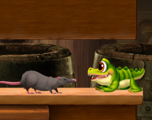 Crocky's Chompin' Rescue Game