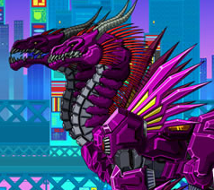 Robot Twin Headed Dragon Game