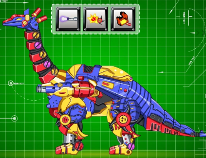 Steel Dino Toy Mechanic Tanystropheus Game