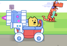 Wubbzy Silly Speeder Game
