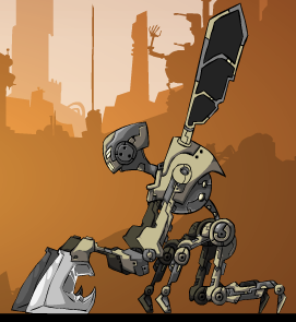 Robot Arcane Weapon  Game