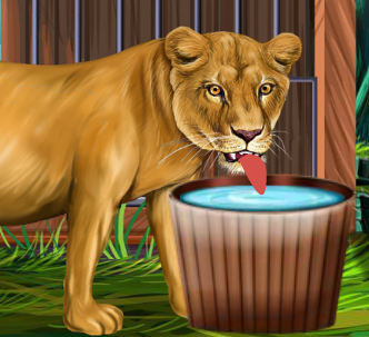 Family Day With Animals Game