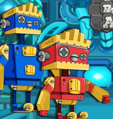 Robot Brother Lab Adventure Game