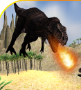 Dinosaur Monster Attack Game