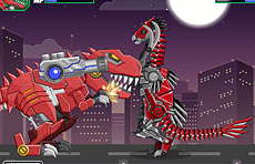 Toy War Robot Therizinosaurus Game