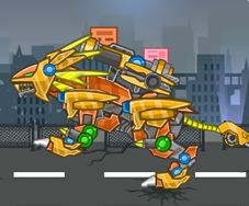 Toy War Super Robot Beasts Game