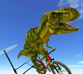 Flying Dinosaur Bike Racing Game